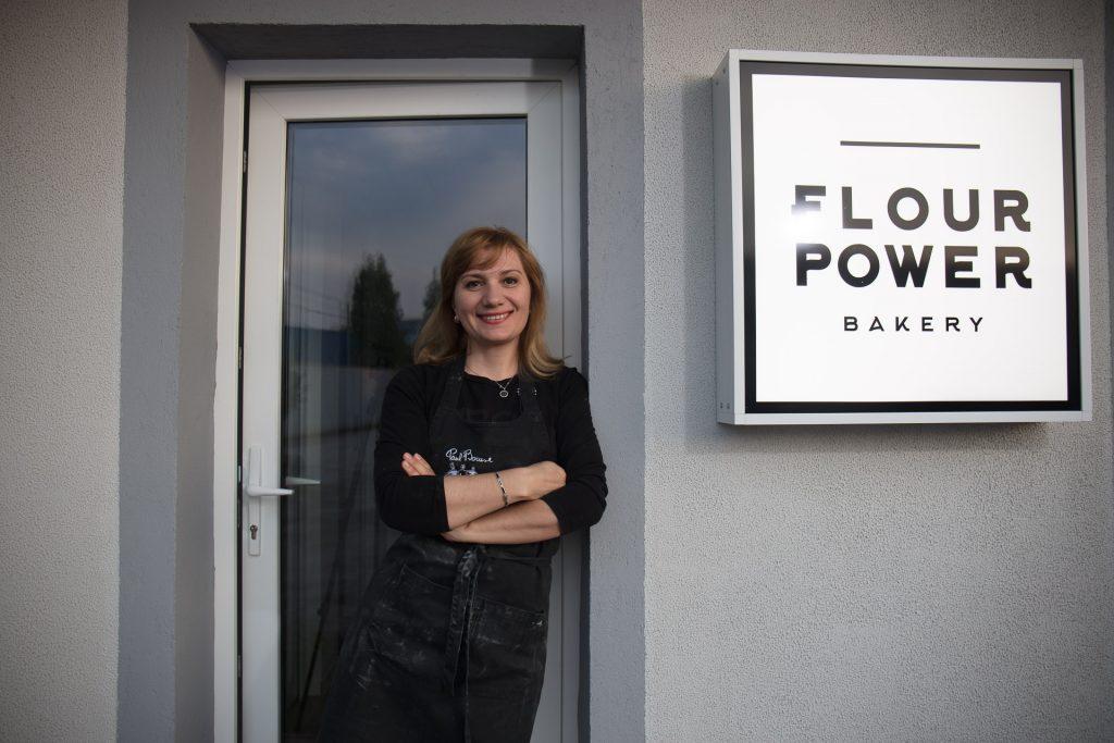 Carmen Pop, Founder Flour Bakery