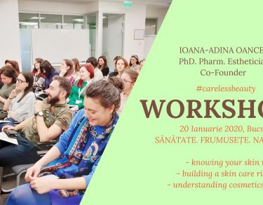 Workshop Sanatate frumusete natura - Ioana Adina Oancea